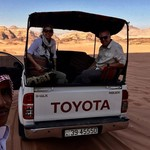 Wadi Rum Jeep tour! | Photo taken by Valerie M