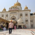 Gurudwara Bangla Sahib | Photo taken by Ivan T