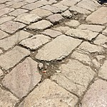Tough Roman road stones | Photo taken by Mia F