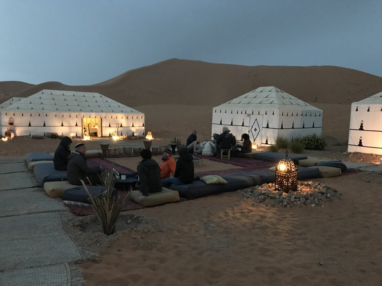 Desert Camp Bouchedor | Photo taken by Chris M