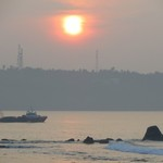 Sunrise in Galle | Photo taken by Barbara A