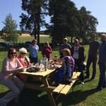 Country picnic with cousins in Hamar | Photo taken by Diane H