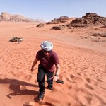 Wadi Rum sand dunes | Photo taken by Gerelyn G