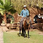 Horseback riding in the Sacred Valley | Photo taken by Angela I