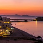 Naxos at dusk | Photo taken by David B