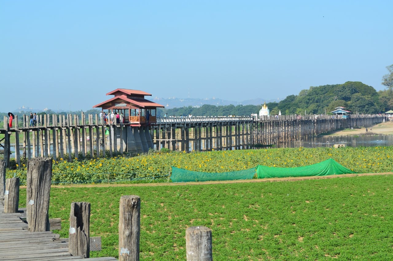 U Bein Bridge   Photo taken by Bonnie S