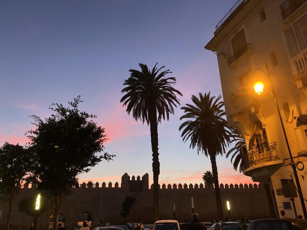 Evening in Rabat | Photo taken by Jennifer K