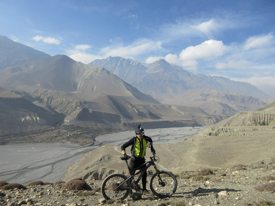 Above Kali Gandaki | Photo taken by david b