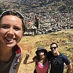 Our new friend Andy, met in the Andes! | Photo taken by Tiffany M