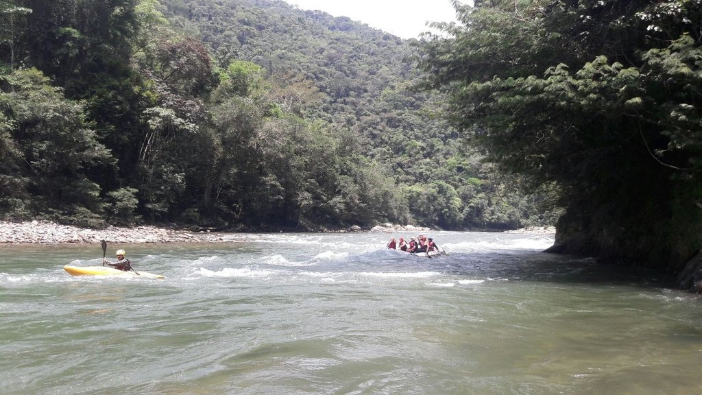 River rafting in Colombia | Photo taken by Hilary W