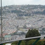 Quito from the monument | Photo taken by Katrina H