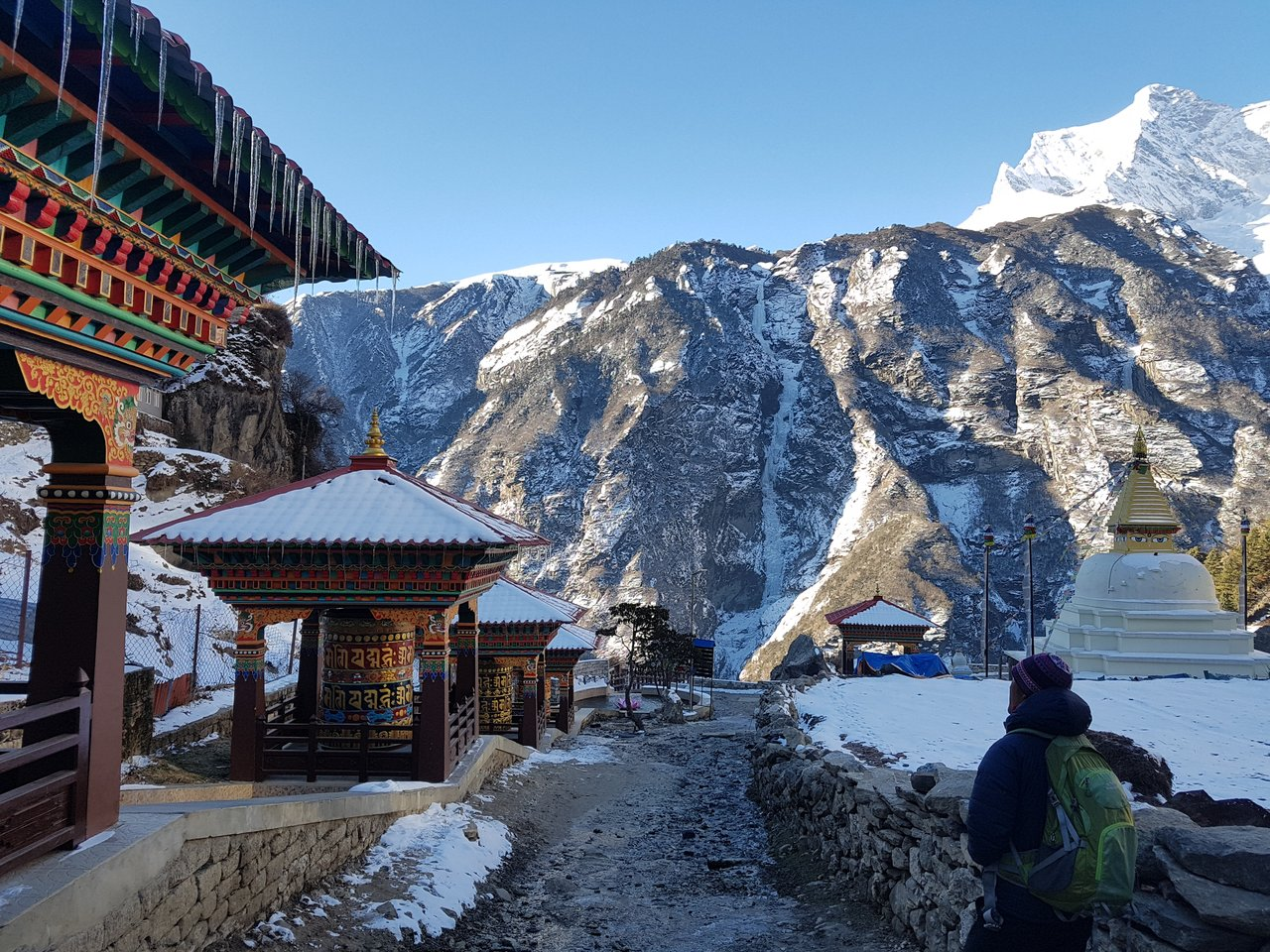 Namche Bazaar | Photo taken by Katarina W