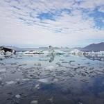 Glacier melt in the south. | Photo taken by Mathew B
