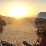 Wadi Rum Sunset | Photo taken by Lawrice S