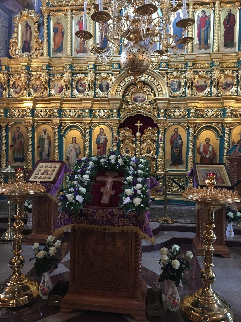 Inside church Suzdal | Photo taken by Diane P