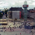 Oslo City Center, View from our hotel | Photo taken by Mark M