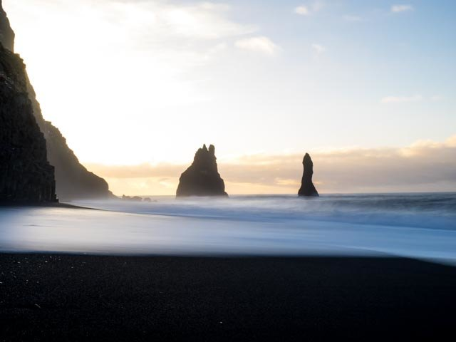 Reynisdrangar | Photo taken by Grace L