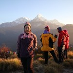 Poon hill  | Photo taken by kelly Y