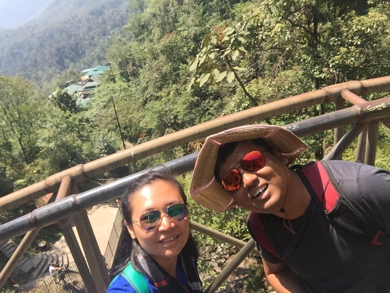 Selfie  | Photo taken by Seng Aung S