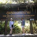 Day trip to Doi Inthanon National park, trekking | Photo taken by Deborah B
