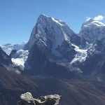 From Gokyo | Photo taken by christine N