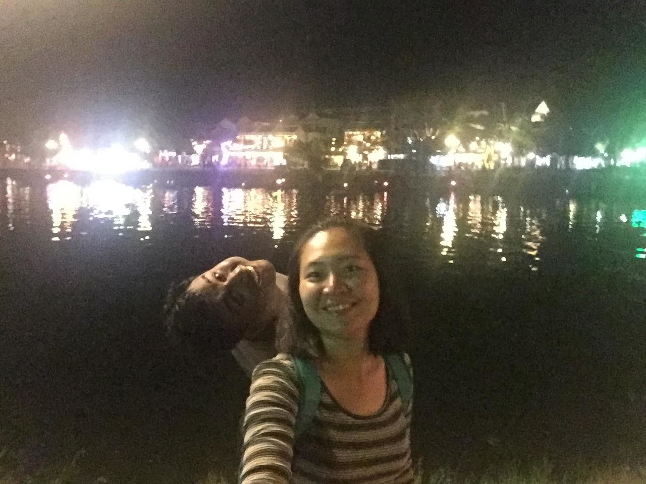 Fun at the Hoi An Lake  | Photo taken by Seng Aung S