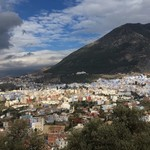 Panoramic view of Chefchaouen  | Photo taken by Alif Nadya Inniar R