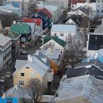 View from the top of Hallgrimskirkja  | Photo taken by Savio F