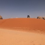 Wadi Rum sand dunes | Photo taken by sheldon k