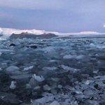 Icy Glacier Lagoon | Photo taken by Purvish P