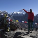 Gokyo Ri-Everest-view   Photo taken by Lidia D
