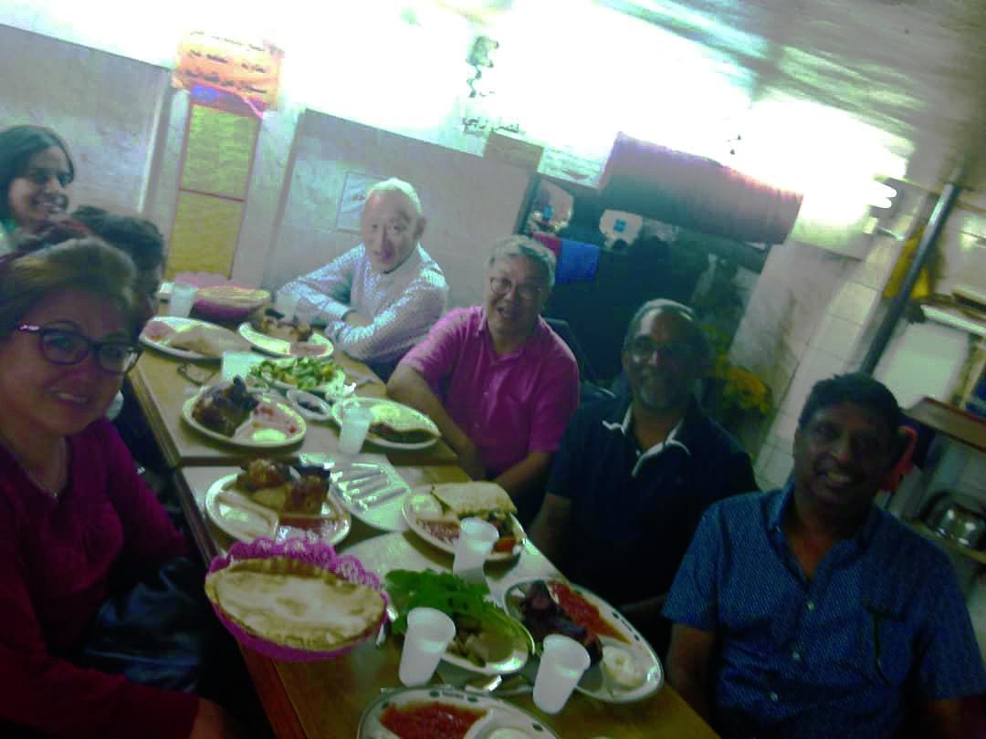Dinner at local restaurant | Photo taken by Krish I