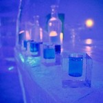 Ice bar at Sorrisniva Ice Hotel | Photo taken by Timothy H