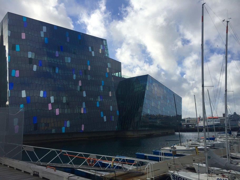 Harpa Concert Hall, Reykjavik  | Photo taken by Marisa K