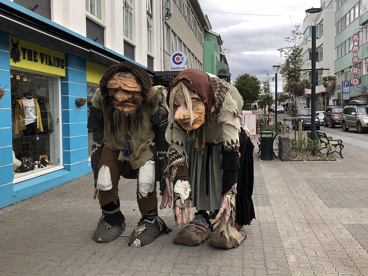 Trolls in Akureyri | Photo taken by Laura D