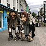 Trolls in Akureyri | Photo taken by Laura D