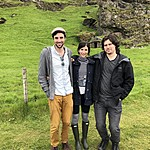 Greg, Hannah and Brian - cute sheep house | Photo taken by Elizabeth R