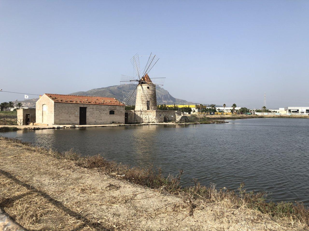 Salt fields in  Trapani   Photo taken by ingrid B