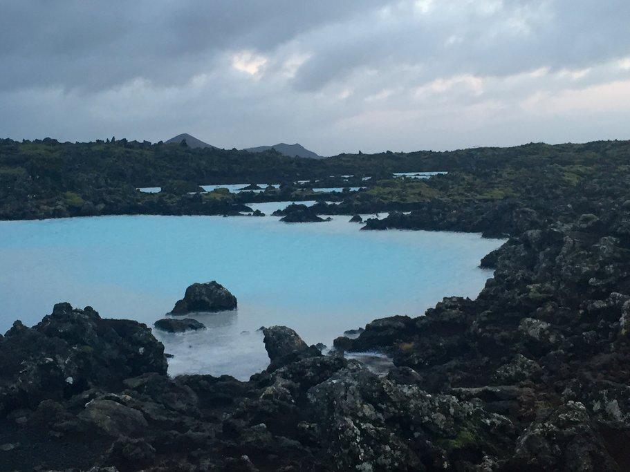The Blue Lagoon | Photo taken by Marisa K