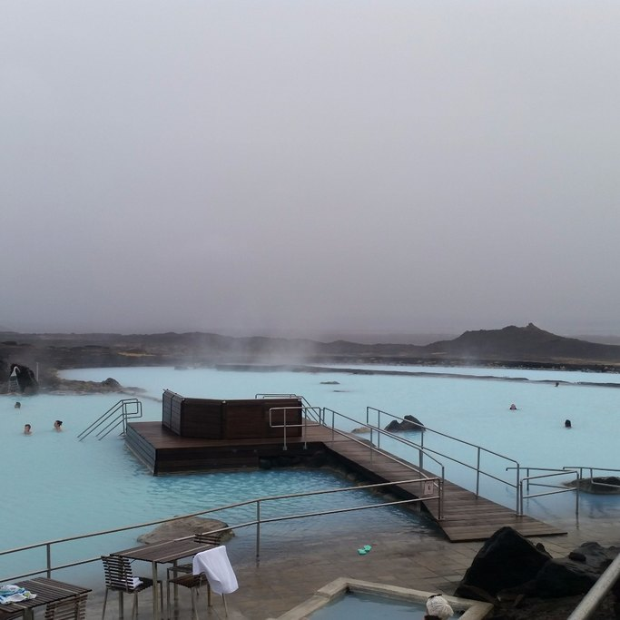 Lake myvatn pools  | Photo taken by Anna S