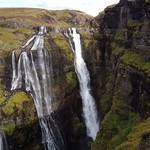 Glymur falls. My favourite hike from our trip. | Photo taken by Mathew B