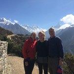 Mt Everest in background! | Photo taken by Joseph G