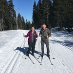 Cross country skiing in Oslo | Photo taken by Timothy H