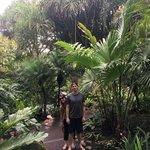 Walking through the Shangri La Gardens | Photo taken by Rachel H
