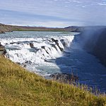 Gullfoss - Golden Waterfall | Photo taken by Dave L