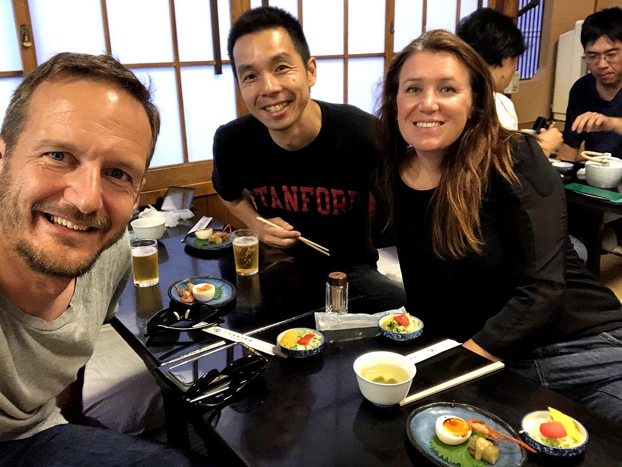 Tempura lunch in Asakusa   Photo taken by Joost S