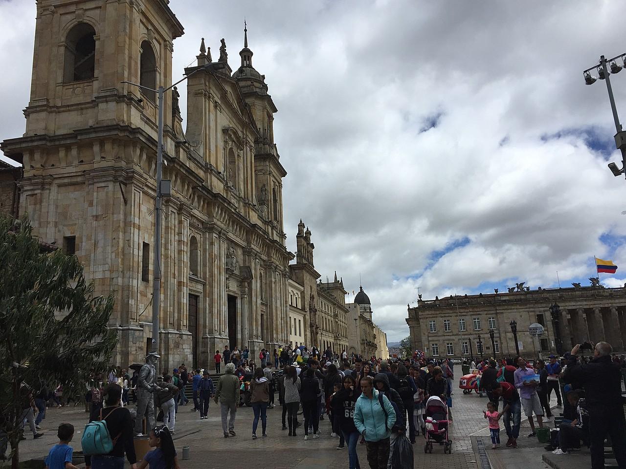 Bolivar Square, Bogota | Photo taken by David B