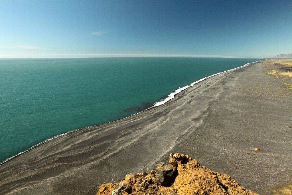 Black sand beach | Photo taken by Amol L