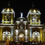 Cathedral in Main Square, Trujillo | Photo taken by Bev D