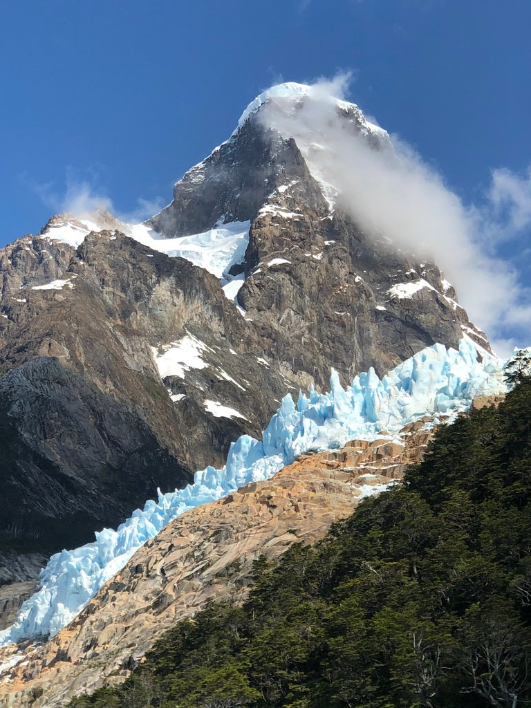 Incredible Glacier Field | Photo taken by Melody B